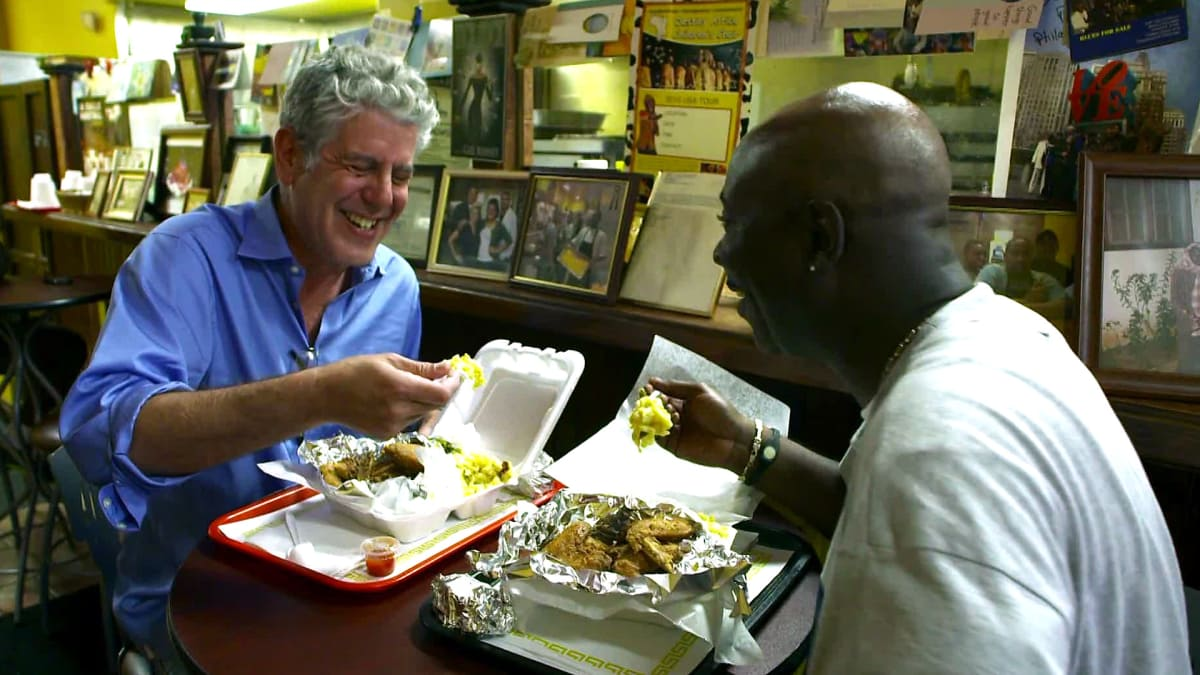 Anthony Bourdain shows that there's more to Philly than just cheesesteaks.